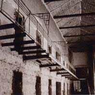 Aspecto del interior de la prisión
